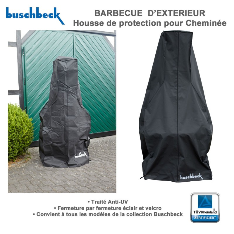 Housse de protection pour barbecue en pierre 901167 buschbeck for Housse de barbecue