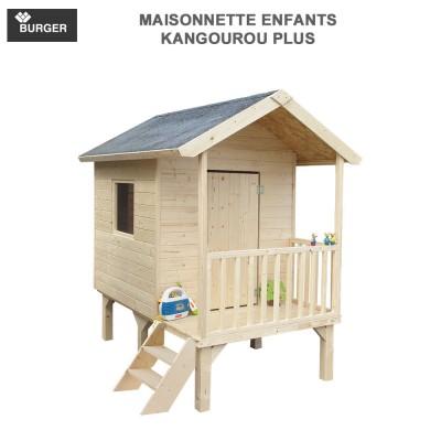 Cabane en bois enfants Kangourou plus