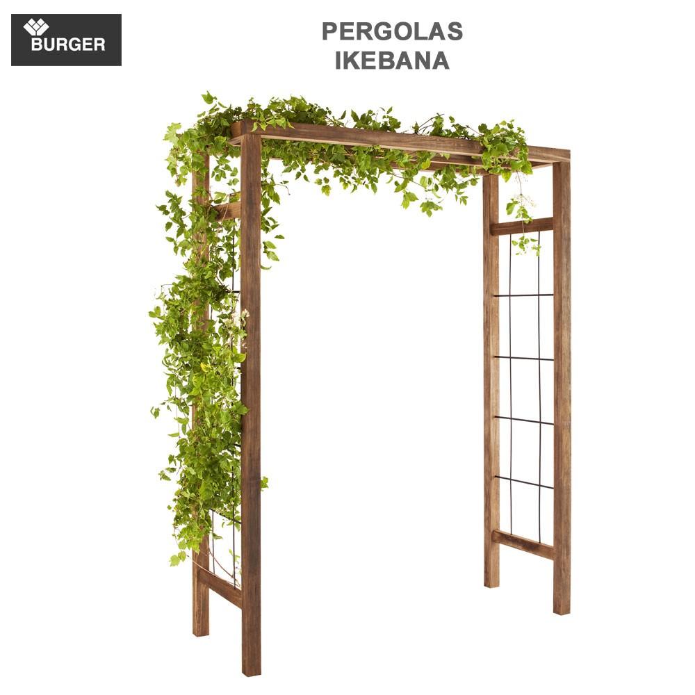 pergola en bois de jardin ikebana 393 burger 8. Black Bedroom Furniture Sets. Home Design Ideas