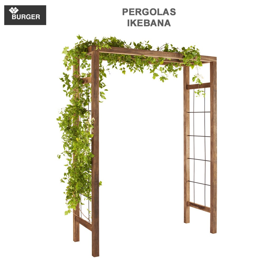 pergola en bois de jardin ikebana 393 burger 8. Black Bedroom Furniture Sets. Home Design Ideas