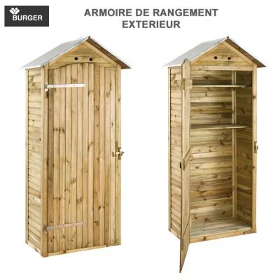 Acheter votre armoire de jardin bois ou m tal bon prix clic discount - Armoire prix discount ...