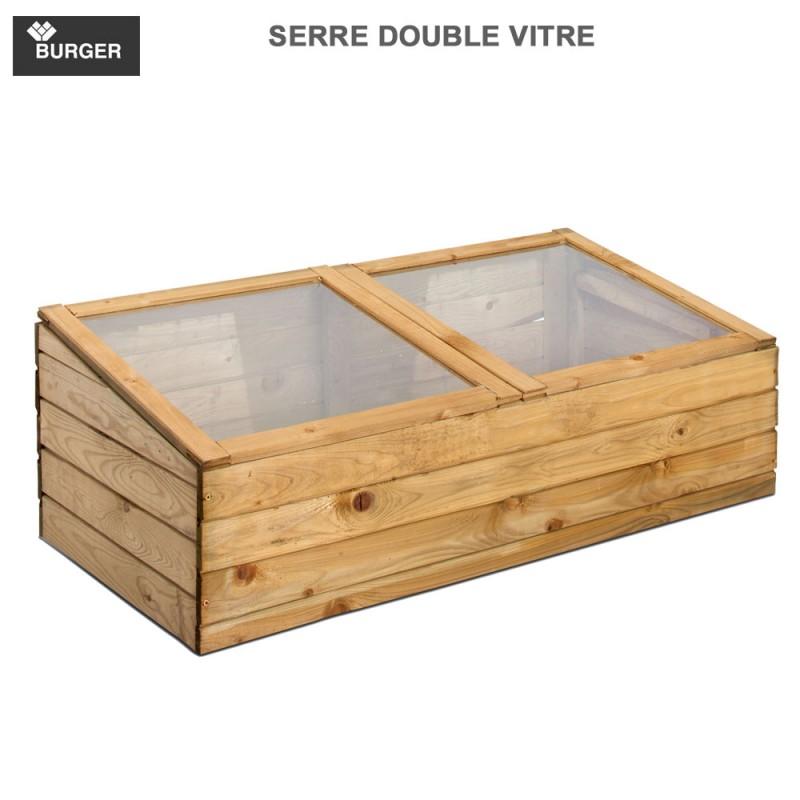 serre ch ssis en bois double 0100102 burger 8. Black Bedroom Furniture Sets. Home Design Ideas