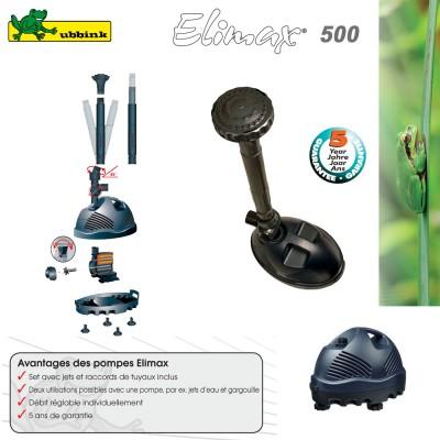 Pompe pour bassin extérieur Elimax 500