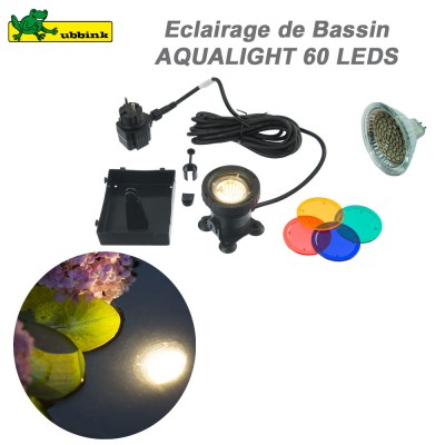 Eclairage pour bassin Acqualight 60 Led
