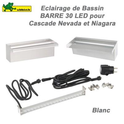 Barre 30 LEDS pour casacdes Niagara et Nevada