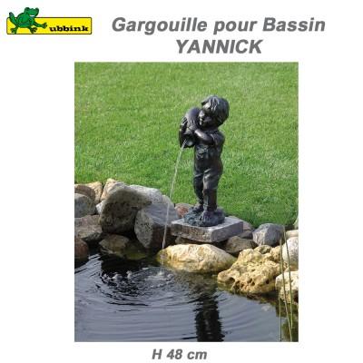 Gargouille de bassin de jardin Yannick