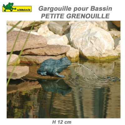 Gargouille de bassin de jardin Petite Grenouille