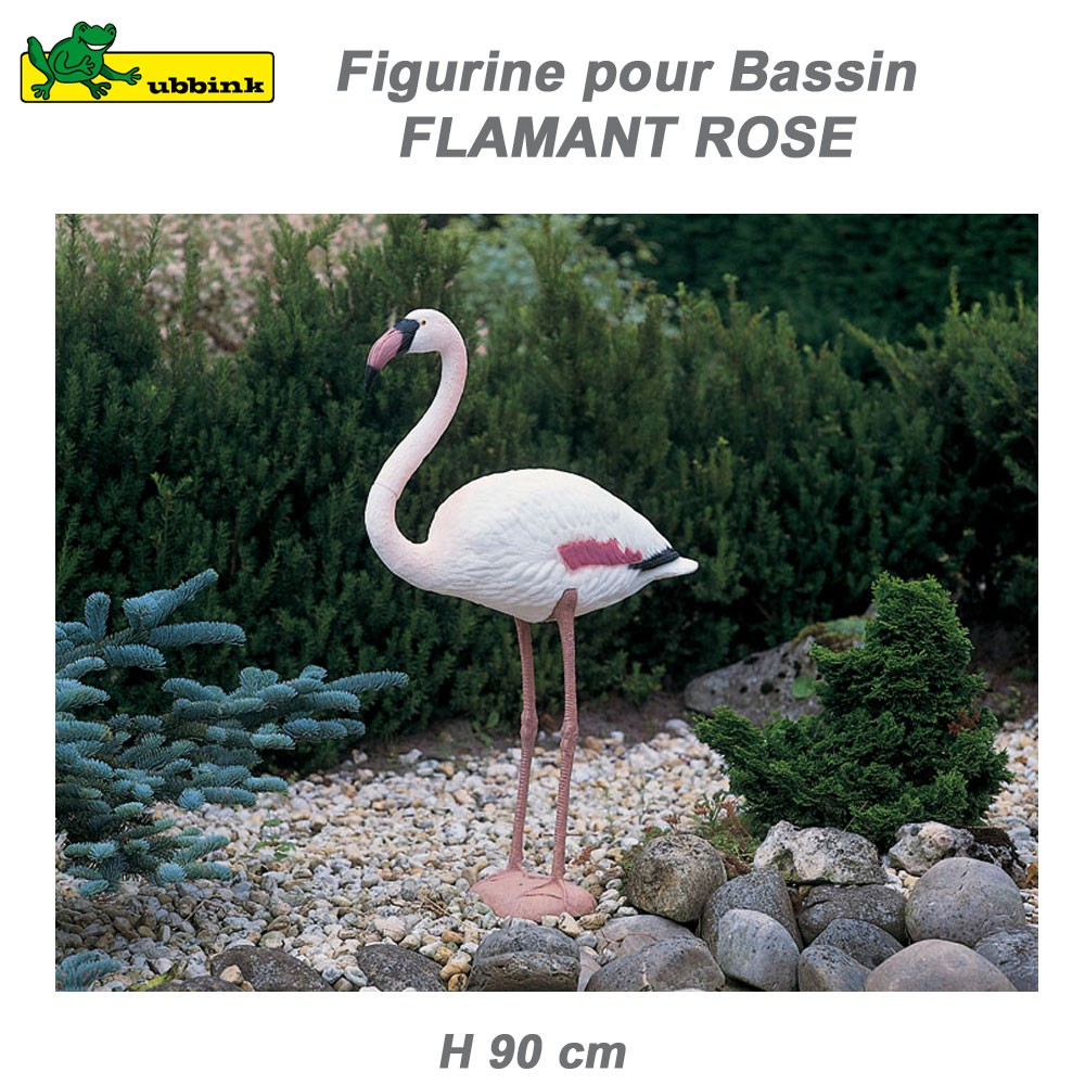 Flamant rose d coration de bassin aquatique 1382503 ubbink 8 for Decoration de bassin exterieur