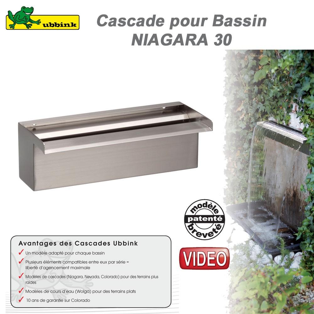 Cascade de bassin de jardin ext rieur niagara 30 1312085 for Cascade bassin jardin