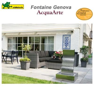 Fontaine de jardin en inox AcquaArte Genova