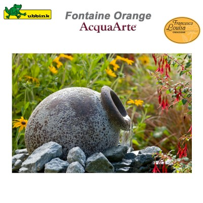 Fontaine de jardin Orange