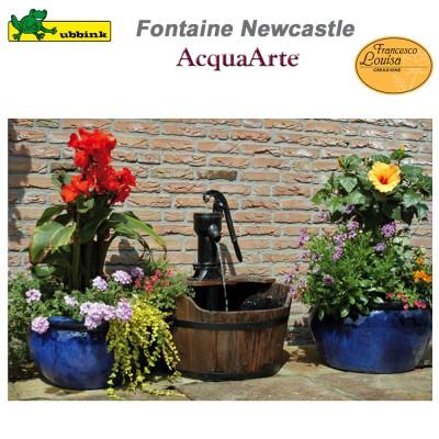 Fontaine de jardin extérieur en bois Newcastle
