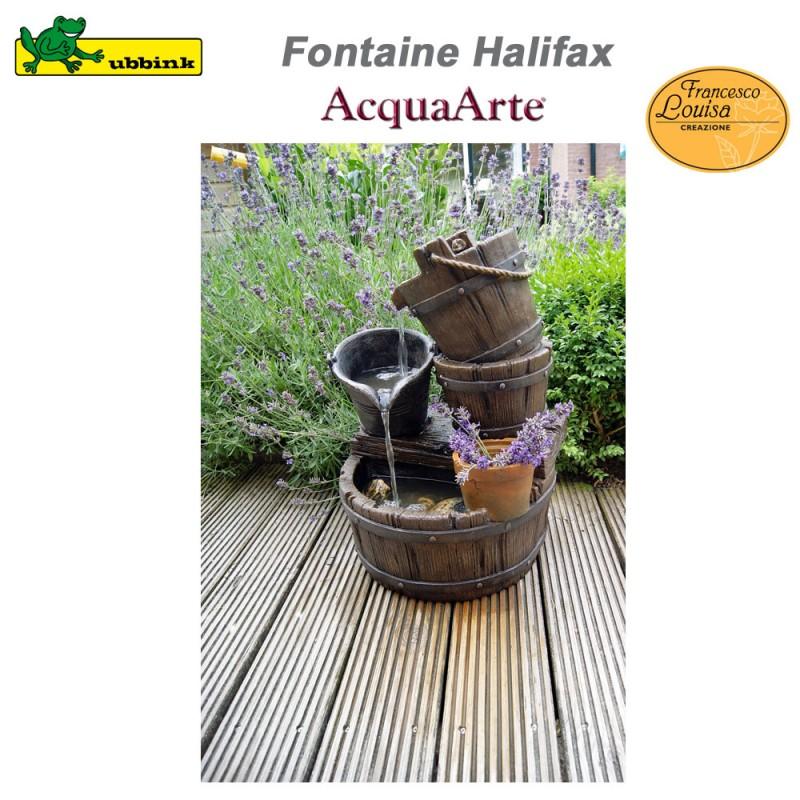 Fontaine de jardin ext rieur polyr sine acquaarte halifax - Fontaine de jardin en polyresine ...