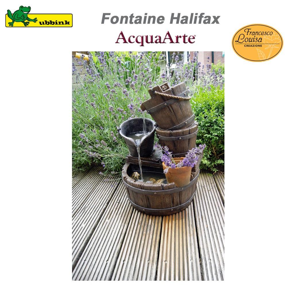 Fontaine de jardin ext rieur polyr sine acquaarte halifax 1387046 u - Fontaine de jardin en polyresine ...