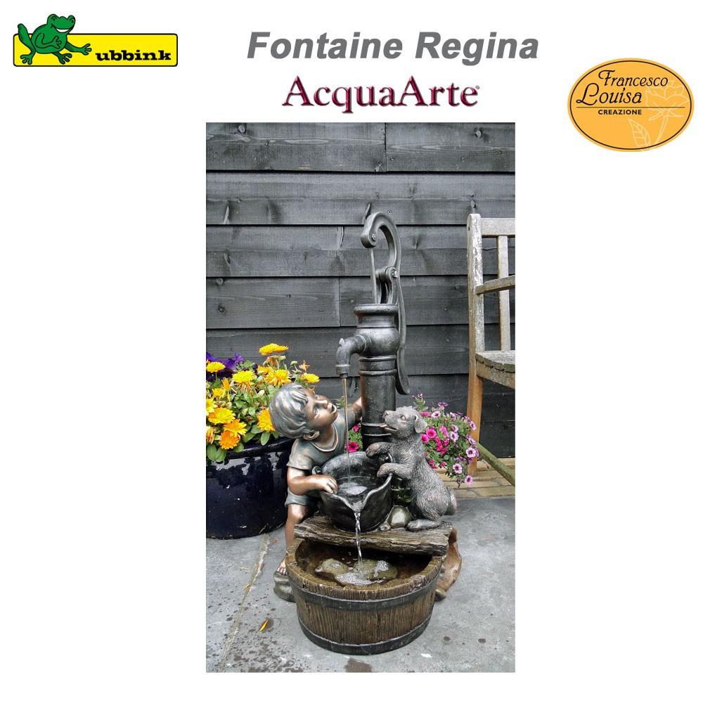 Fontaine de jardin ext rieur polyr sine acquaarte regina 1387045 ub - Fontaine de jardin en polyresine ...