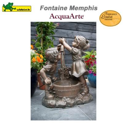 Fontainede jardin extérieur polyrésine AcquaArte Memphis
