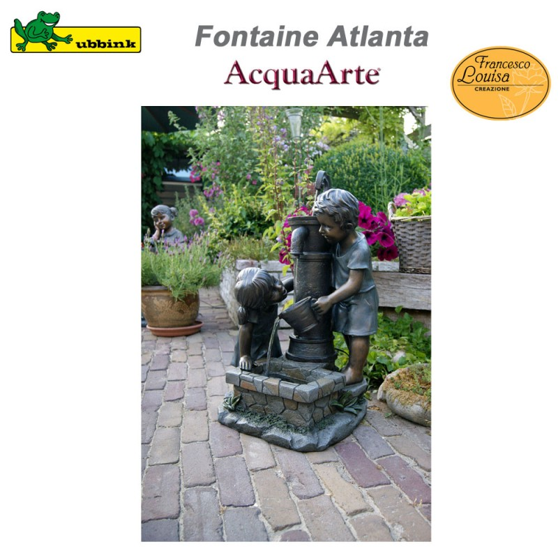 Fontaine De Jardin Exterieur Polyresine Acquaarte Atlanta