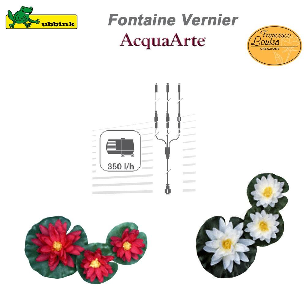 Fontaine de jardin extérieur résine polyester AcquaArte Vernier 138...