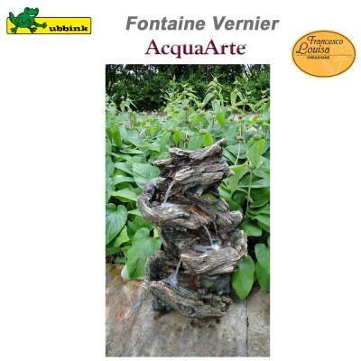 Fontaine de jardin extérieur résine polyester AcquaArte Vernier