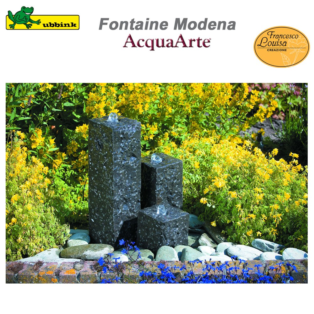 fontaine de jardin ext rieur en granit acquaarte modena. Black Bedroom Furniture Sets. Home Design Ideas