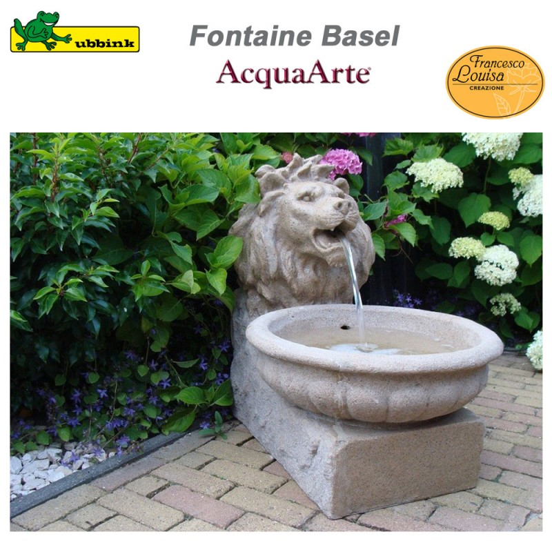 Fontaine De Jardin Exterieur Polyresine Aspect Gres Basel