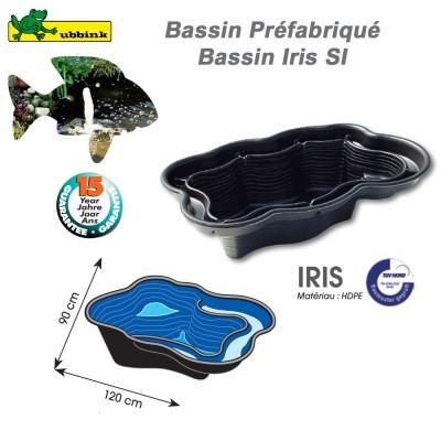 Bassin préfabriqué de jardin Iris SI