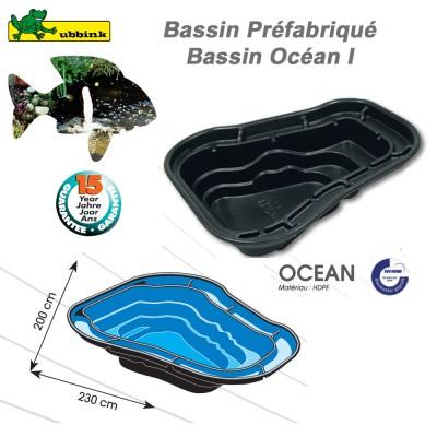 Bassin préfabriqué de jardin Ocean I