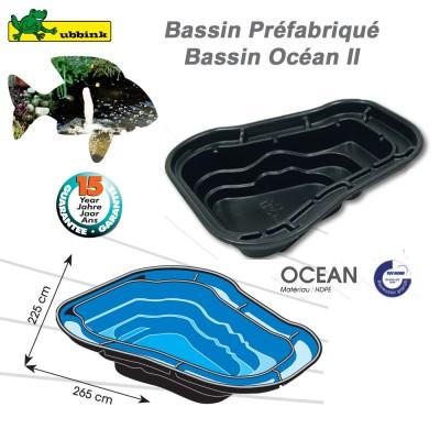 Bassin préfabriqué de jardin Ocean II