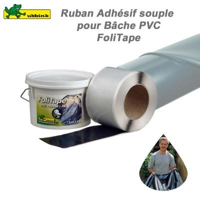 Ruban adhésif FoliTape double face pour bâche PVC, PE et EPDM