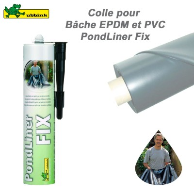 B che pour cr ation de bassin de jardin clic discount for Reparation bache epdm