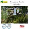 Cascade pour bassin Mamba inox 316