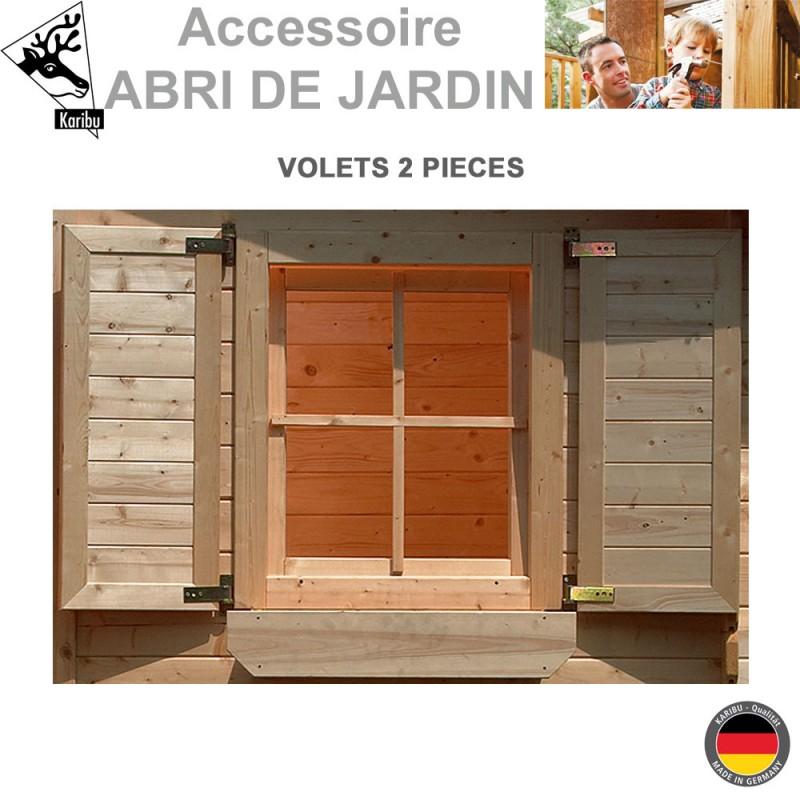 volets abri de jardin pour fen tre de 28 mm. Black Bedroom Furniture Sets. Home Design Ideas