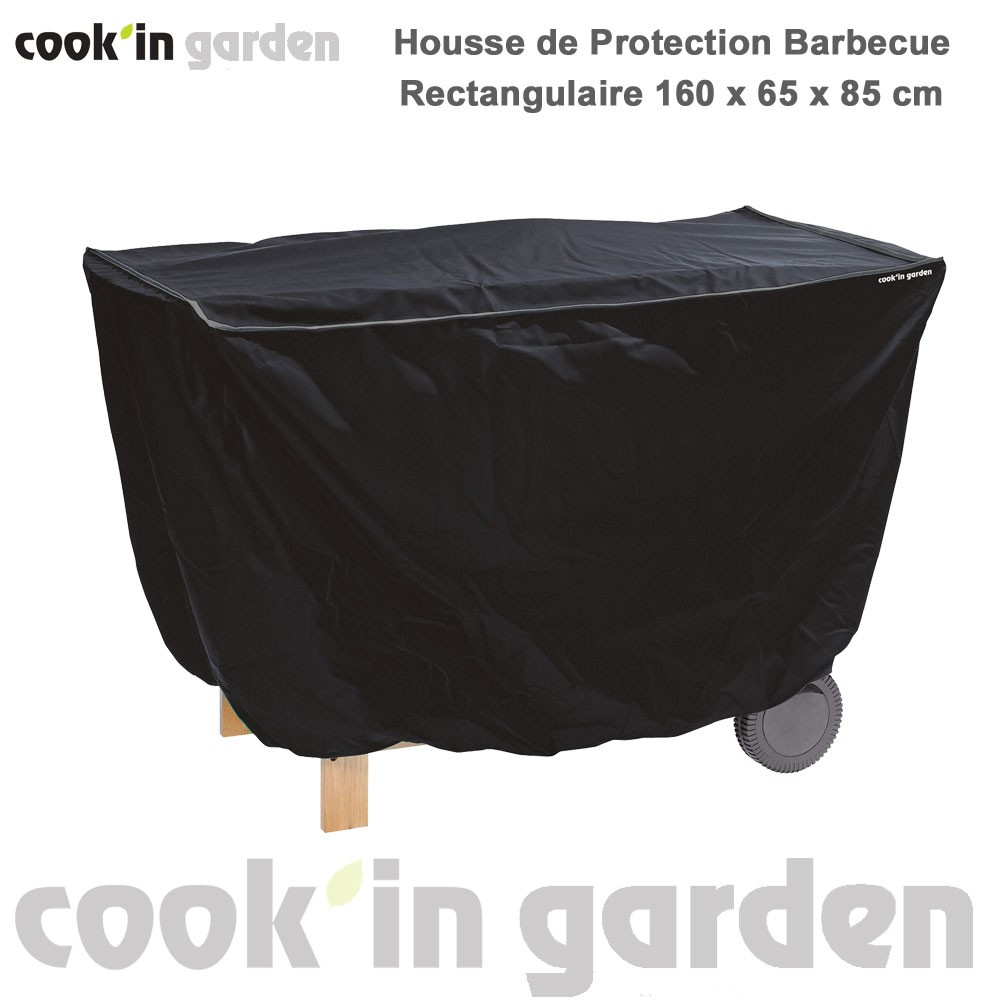 housse de protection barbecue h85 x p65 x l160 ac003 cook 39 in garden. Black Bedroom Furniture Sets. Home Design Ideas