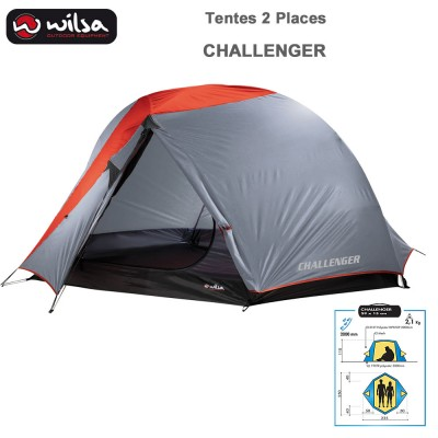 Tente Camping  Dome Challenger