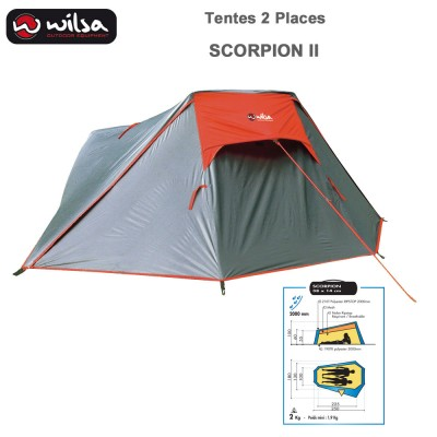 Tente de Camping Scorpion 2