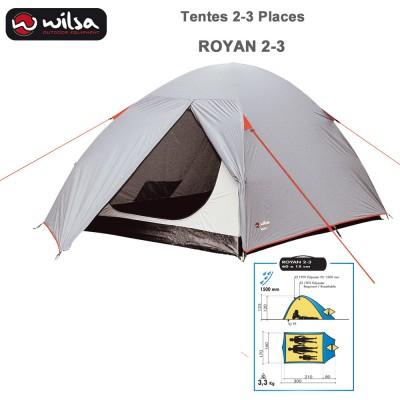 Tente de Camping Dome Royan 2-3