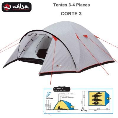 Tente de Camping Dome Corte 3