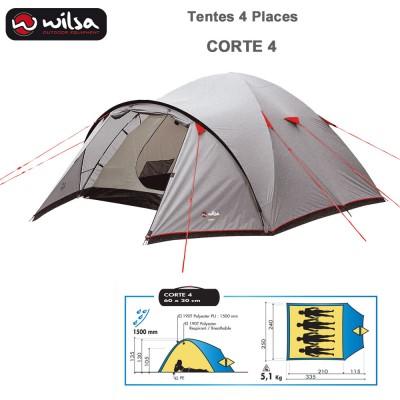 Tente de Camping Dome Corte 4