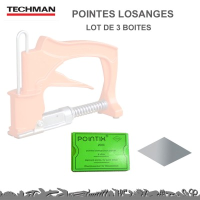 Boites - Pointes losanges - Lot de 2