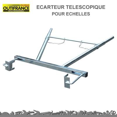 Ecarteur téléscopique pour échelles