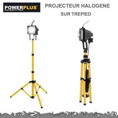 Projecteur Halogène sur trépied - 8550 Lumens