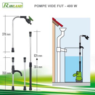 Pompe pour récupérateur d'eau 400W