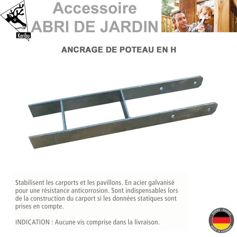 Fixation Clôture Support Montage Support Gargouilles Accessoires poteaux clôture 10 x