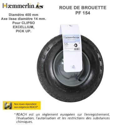 roue de brouette pf 154 haemmerlin 309016701 haemmerlin vente de. Black Bedroom Furniture Sets. Home Design Ideas