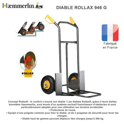Diable de manutention ROLLAX® 946G