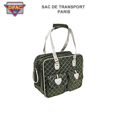 Sac de transport petit chien ou chat Paris