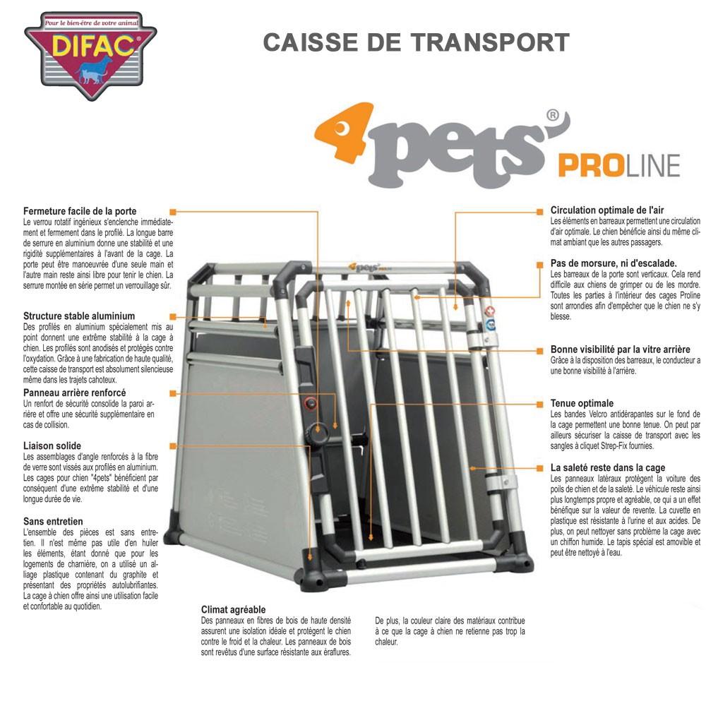 caisse de transport coffre de voiture dog box milan. Black Bedroom Furniture Sets. Home Design Ideas