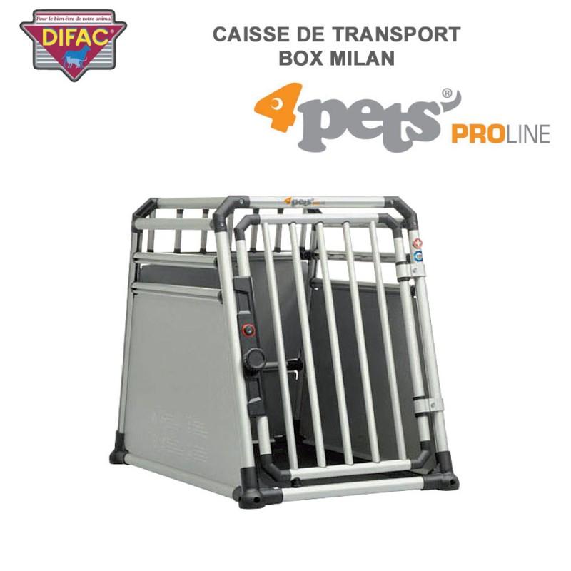 caisse de transport coffre de voiture dog box milan 900512 difac. Black Bedroom Furniture Sets. Home Design Ideas