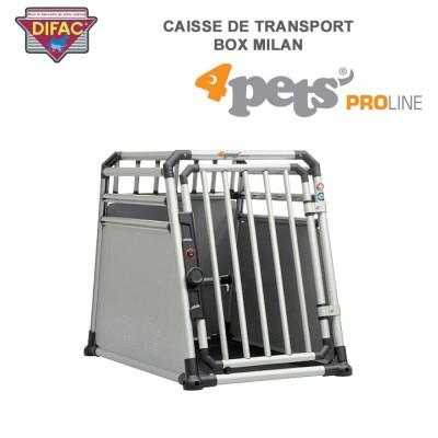 Caisse de transport coffre de voiture Dog Box Milan