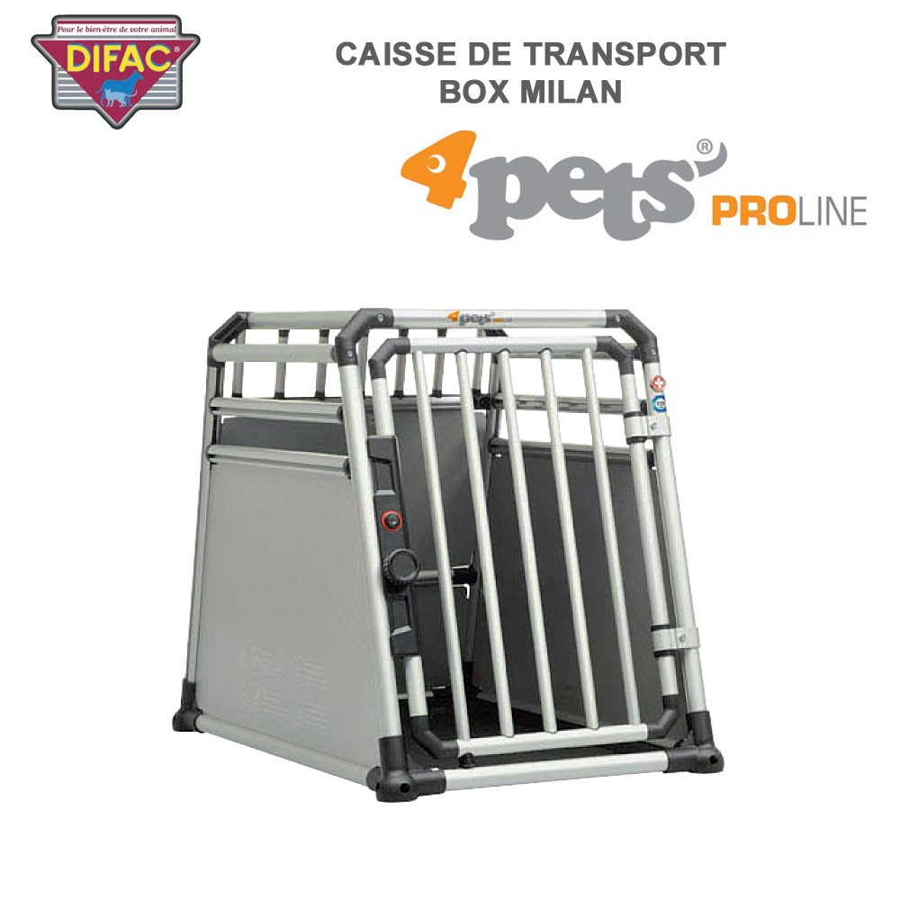 caisse de transport coffre de voiture dog box milan 900512 difac. Black Bedroom Furniture Sets. Home Design Ideas
